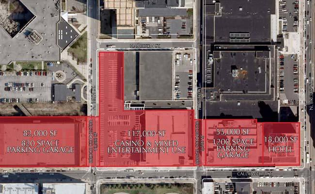 Tower Investments Inc. would construct the project starting at the intersection of Callowhill and Broad streets.