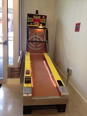 A diversion - Skee-ball.