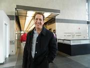 Developer Bart Blatstein in the Tower Place lobby.