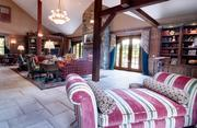 Great room in main house.