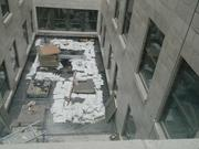 Some guest rooms will face an interior courtyard.