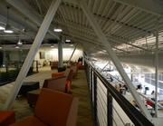 Overlooking ShopRunner's space from the mezzanine.