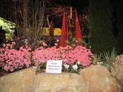 "Burke Brothers Landscape Contractors of Wyndmoor, Pa., created a garden using ""raw, local materials and art installations."""