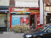 Community Bikes and Boards (712 S. 4th) sells BMX bikes, skateboards, snowboards and related gear and apparel.