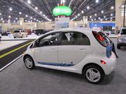 Mitsubishi has the i-MiEV, an all-electric four-door hatchback that sells for $29,125 to $31,125.