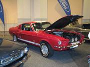 Ford has an exhibit of its Mustang line at the Philadelphia Auto Show. This is a 1967 Shelby model.