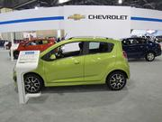 The Chevrolet Spark is what the manufacturer calls a mini-car, Chevy's first in North America. Base price is $12,995.