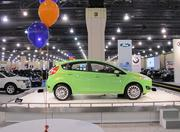 This is the 2014 Ford Fiesta. The 2013 model starts at $13,745