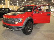 The Ford F-150 is a staple in the truck field. This SVT model has a 6.2-liter engine, 411 horsepower and tips the scales at nearly 6,000 pounds. Sticker: $55,500.