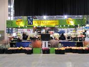 Kremp Florists is one of the area businesses in the Flower Show Marketplace, where show-goers can buy plants and flowers.