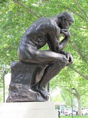 "One of French artist Auguste Rodin's most widely known works is  ""The Thinker,""  though this is not the only cast of the piece."