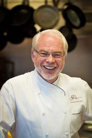 "4. Lacroix at the Rittenhouse (210 W. Rittenhouse Square) is no longer run by Chef Jean-Marie Lacroix (pictured), but Chef Jon Cichon creates eclectic fare with ""stunning flavors and textures,"" Zagat says. And the staff treats diners like a ""visiting dignitary."" Cost per person, including drink and tip: $77."