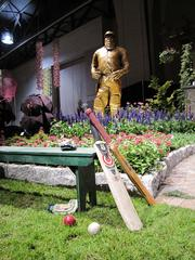 "A cricket club and the ""The Scorer's Garden"" were the inspirations for an exhibit by J. Downend Landscaping of Crum Lynne, Pa."