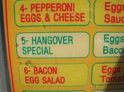 "One Yelp reviewer called Bui's an ""egg-and-cheese mecca,"" while another praised its fare as ""the perfect hangover cure."""