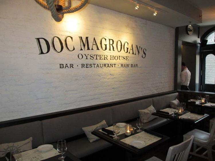 The interior of the new Doc Magrogan's near Penn campus.