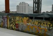 Graffiti on the roof will be preserved.