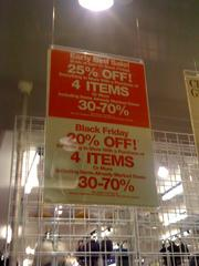 What Black Friday is all about: Deep discounts.