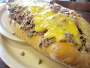 """A Pudge's cheesesteak. Voter comment: """"The best part of the cheesesteak is the meat. Their fresh Italian bakery bread is the perfect balance of flaky and soft."""""""