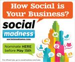 Social Madness deadline is today – enter now!