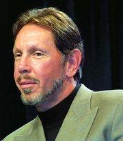 Oracle's Larry Ellison