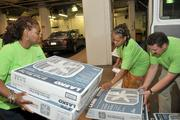 About 20 Peco employees loaded 500 box fans into vans bound for Philadelphia-region elderly and low-income customers during the summer. Peco was at the top of the extra-large companies division in the Cash Donors category.