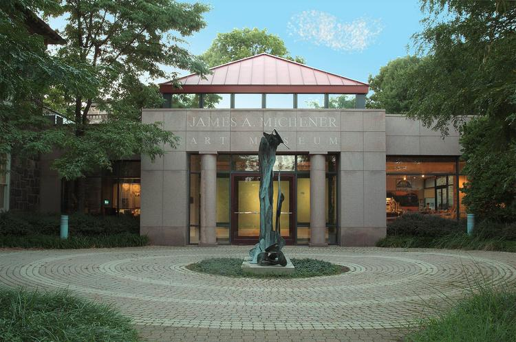 No. 24 (TIE) - James A. Michener Art Museum, Doylestown, Pa. Visitors in 2011: 120,000. Last year's rank (based on 2010 figures): 20.