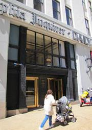 The Inquirer/Daily News building at 400 N. Broad St. Soon the company will relocate to 801 Market St.