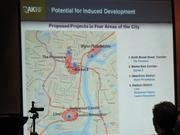 A slide shows the proposed sites for each casino.