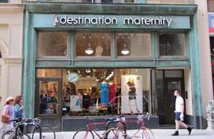 The Destination Maternity store on Walnut Street in Center City.