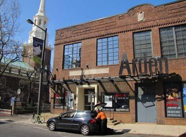 Among the institutions contributing to Old City life, according to ArtPlace, are the Arden Theater ...