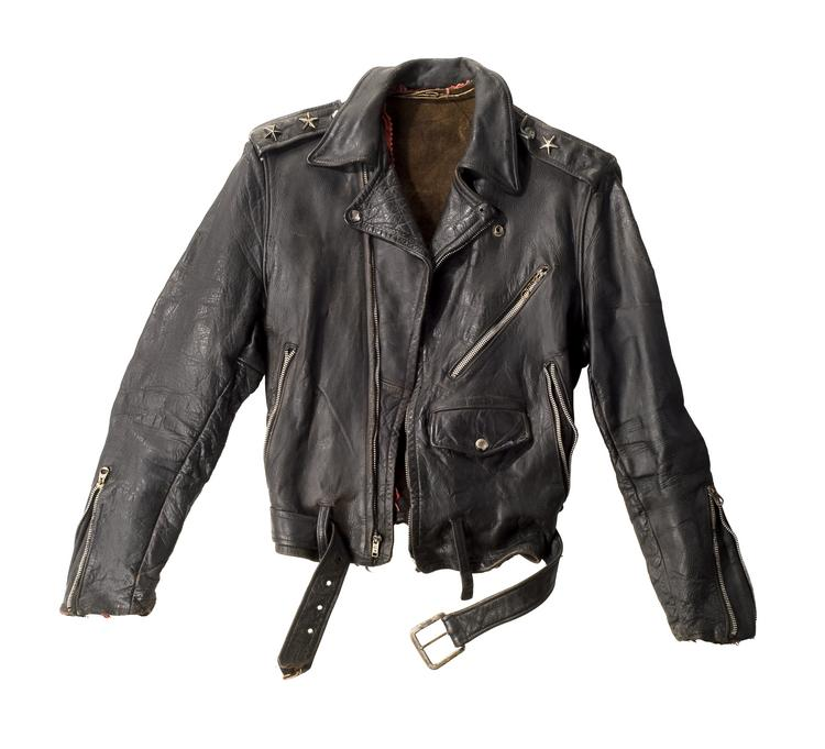 Springsteen wore this motorcycle jacket on the cover of Born to Run, c. 1975.