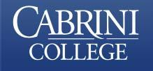 Cabrini is a residential Catholic college in Radnor, Pa.