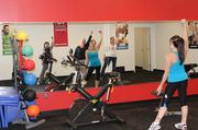 Health Advocate — Health Advocate employees break a sweat at the company's fitness center, which opened in September 2011.