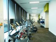 Among the amenities at Iroko's new headquarters are a gym, kitchen and eating areas.