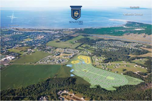 Schell says units at its Senators community in Delaware are selling briskly.
