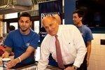 Philadelphia luminaries scoop PBJ ice cream for charity: Slideshow