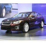 2012 Subaru Impreza at the 2011 New York International Auto Show (NYIAS).