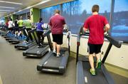 Vanguard — Work it! A number of Vanguard employees hop on the treadmill throughout the day to keep their hearts pumping.