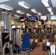 The fitness center at the Omni Hotel in Philadelphia, a Best Places to Work winner in the medium company category.