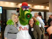 The Phanatic made a special appearance. He did not divulge any news about potential Phillies free agent signings.