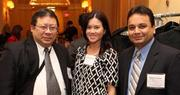L to R: Phil Jaurigue, Sabre Systems, Kristen Jaurigue and Manish Gorawala, Tri-Force Consulting, Inc.