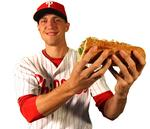 A Philadelphia Phillie signs three-year-deal — with bread maker