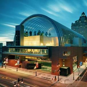 The Philadelphia Orchestra's new offices keep it close to its performance space at the Kimmel Center.