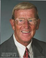 """""""The decisions made by the NCAA on Penn State are extremely strong & devastating. It's a message saying we are in control.""""- Lou Holtz, former college football coach, ESPN commentator"""
