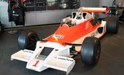 A McLaren race car.