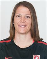 Nicole Barnhart, Pottstown, Pa., Women's Soccer. Barnhart, 31, serves as the backup to starting goalkeeper Hope Solo.