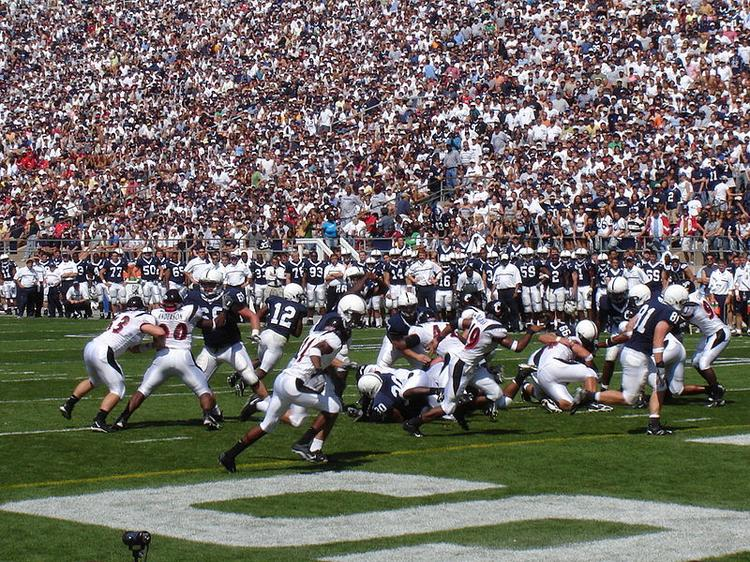 Penn State will not be allowed to play in the Big 10 championship game for the next four years.