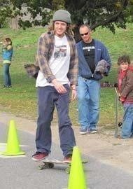 Skateboarder in Philadelphia.
