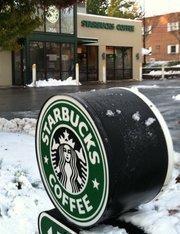 Chilled Starbucks Frappuccino: $5.50