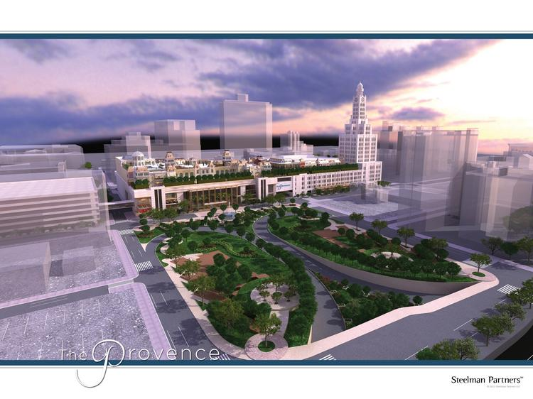 The exterior of the proposed Provence, a casino, hotel and retail complex.